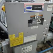 CARRIER CHILLER, MODEL 30HWC035-A-600KA, S/N: 3797F95637, LOCATION: MONTREAL AREA