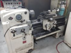 TOOLROOM LATHE, MODEL GRAZIANO SAG 14, S/N: 69288, C/W 2 AXIS DRO, LOCATION: MONTREAL AREA