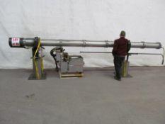 LNS HYDROBAR BAR FEEDER, MODEL 6.5HS-5.2, LENGTH 17' 6'' LOCATION - HAWKESBURY, ONTARIO