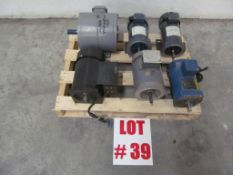 (1) LOT (6) ASSORTED ELECTRICAL MOTORS - LOCATION - HAWKESBURY, ONTARIO