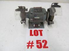 6'' BENCH GRINDER, 120V/1PH/60C - LOCATION - HAWKESBURY, ONTARIO
