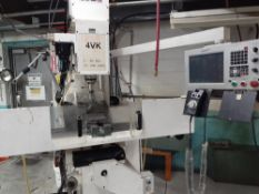 CNC VERTICAL MILLING MACHINE, MODEL DYNAPATH 4VKNC, S/N: 135002E, 5HP, LOCATION: MONTREAL AREA