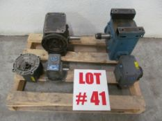LOT (5) ASSORTED GEAR BOXES - LOCATION - HAWKESBURY, ONTARIO
