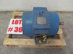 HICO 15HP ELECTRIC MOTOR, 240V/460V/3PH/60C - LOCATION - HAWKESBURY, ONTARIO