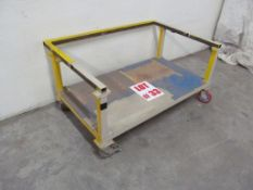 HEAVY DUTY STEEL CART ON CASTERS - LOCATION - HAWKESBURY, ONTARIO