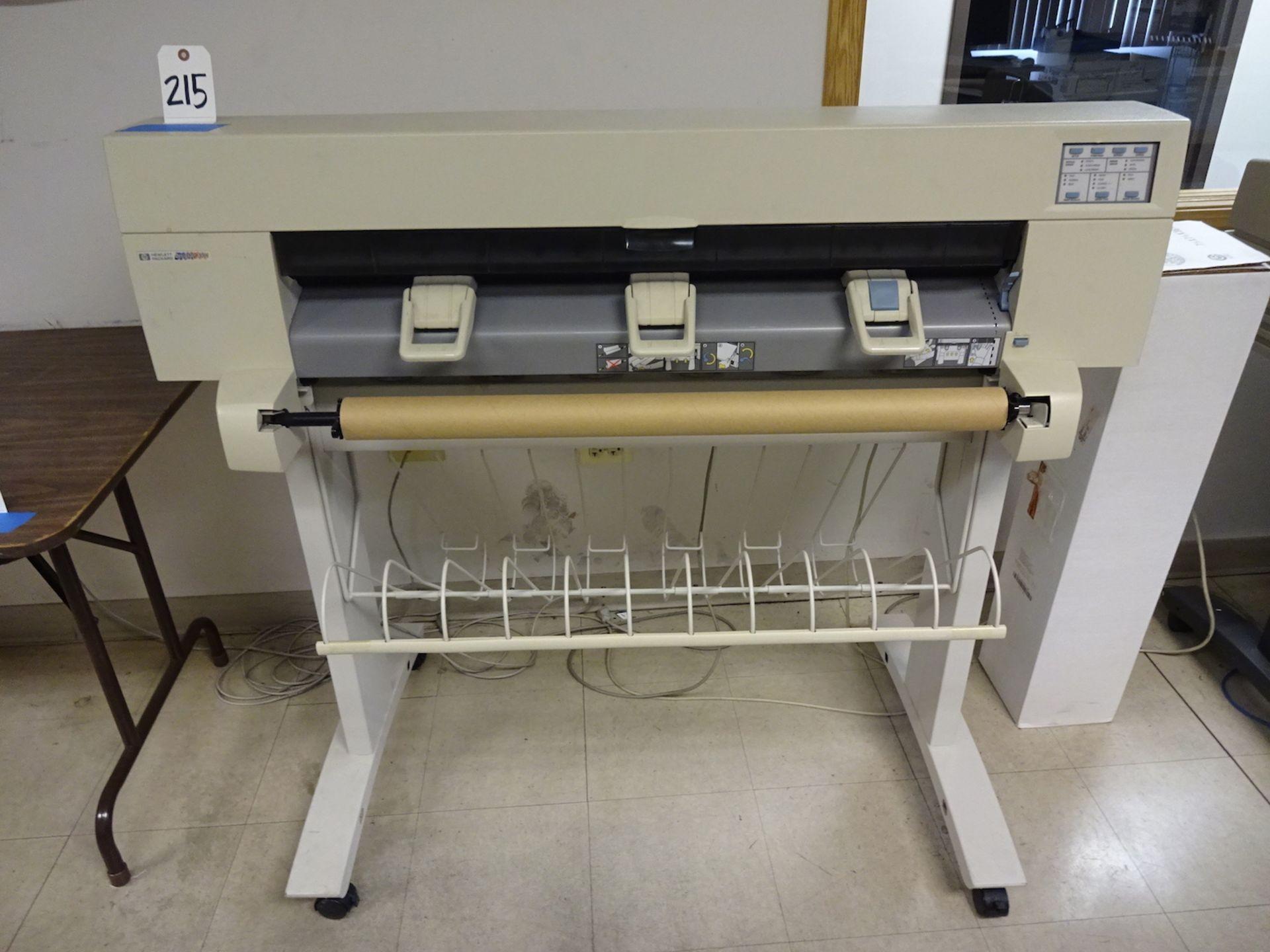 Lot 215 - Hewlett Packard Designjet 450C Plotter