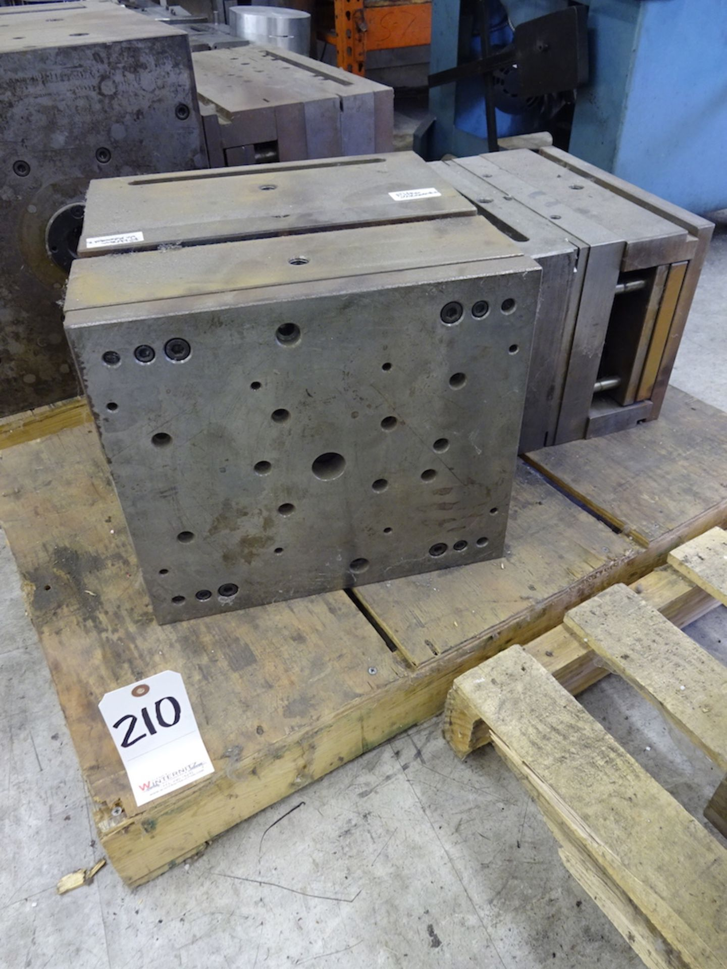 Lot 210 - LOT: (2) Plastic Injection Molds