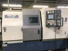 (1999) Mori Seiki Model ZL-150SMC Twin Spindle Twin Turret Live Tool CNC Lathe S/n 107. Live Holders