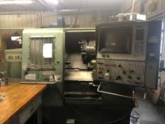 (1988) Mori Seiki Model SL-1A CNC Lathe S/N 538 Equipped with Fanuc 10T CNC Control