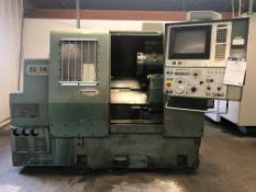 Mori Seiki Model SL-1A CNC Lathe S/N 492 Equipped with Fanuc 10T CNC Control,