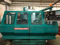 (1989) Matsuura Model MC-760VX Vertical Machining Center S/N 890507527. Wired For Indexer