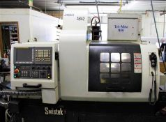 (2011) Swistek Model AB42 Hybrid CNC Swiss Type s/n 0270