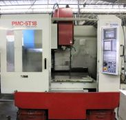 (1997) Excel Model PMC5-T18 Vertical Machining Center, S/N ES5T0597, Equipped with: Fanuc 21m CNC
