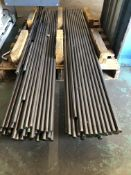 "(LOT) of E 52100 CF 7/8"" RD x 4' Alloy Bars. See Certification"