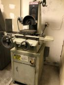 "Harig Model 612 6"" x 12"" Hand Feed Surface Grinder. Cermax Permanent Magnetic Chuck, Teflon Ways"