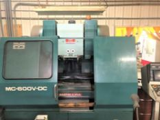 (1988) Matsuura Model MC-600VDC Vertical Machining Center S/n 880906981