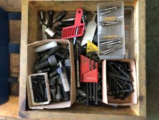 Miscellaneous Tooling, Cutters, Drills, Wrenches