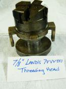 """7/8"""" LANDIS BOLT + PIPE THREADING HEAD, SER# 7VVV541"""