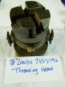 """7/8"""" LANDIS BOLT + PIPE THREADING HEAD, SER# 7VVV196"""