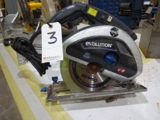 Evolution 2900 RPM Electric Circular Saw