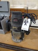 Sears Craftsman 3-1/2 HP, 10,000 - 25,000 RPM Plunge Router
