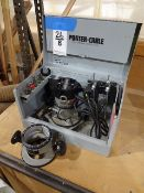 Porter Cable Model 6902 Heavy Duty Motor/Router, with (2) Router Bases