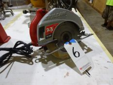 Skilsaw 2.3 HP, 12 Amp Model 5400 Electric Circular Saw