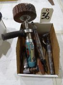 LOT: (5) Assorted Pneumatic Tools