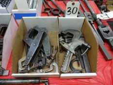 LOT: Assorted Clamps
