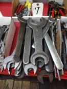 LOT: Large Open End Wrenches