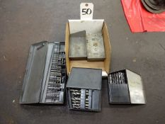 LOT: (5) Assorted Drill Indexes with Drills