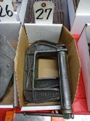 LOT: (2) C-Clamps