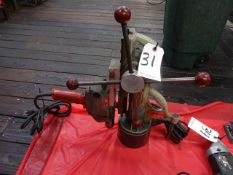 Bux Model L1 Magnetic Base Drill, with 1/2 in. Electric Drill