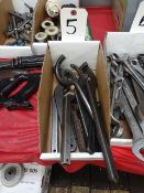 LOT: Assorted Spanner Wrenches