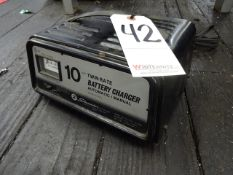 Schumacher Twin Rate Battery Charger