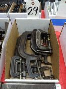 LOT: Assorted C-Clamps