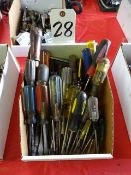 LOT: Assorted Screw Drivers