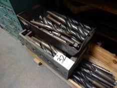 LOT: Assorted Large Drills in (2) Bins
