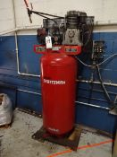 Sears Craftsman 5 HP Model 919.175251 Tank Mounted Air Compressor, 11.1 SCFM at 40 PSIG, 10.8 SCFM