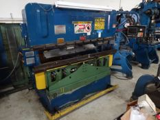 Adira 63 Ton x 81 in. (approx.) Model QHA6320 CNC Press Brake, S/N 3757/7304 (1994), Hurco
