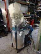 Jet Model DC-1200 Single-Unit Dust Collector, S/N 70313584, 115/230 Volt