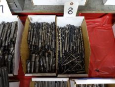 LOT: Assorted Shank Drills in (2) Boxes
