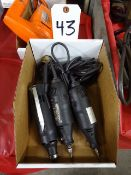 LOT: (3) Assorted Rotary Tools
