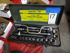 Cobra 1/2 in. Drive Socket Wrench Set
