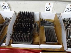 LOT: Assorted Center Punches in (2) Boxes