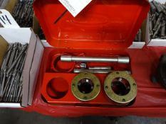 Super Ego Pipe Threading Set including 1-1/2 in. & 2 in. Heads