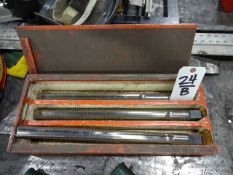 LOT: (3) Large Reamers