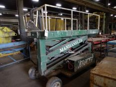 REACH-IT SYSTEMS MANHANDLER 1000 LB. CAP. MODEL SP2048 AERIAL WORK PLATFORM;