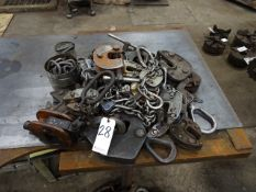 LOT: Assorted Plate Grabs