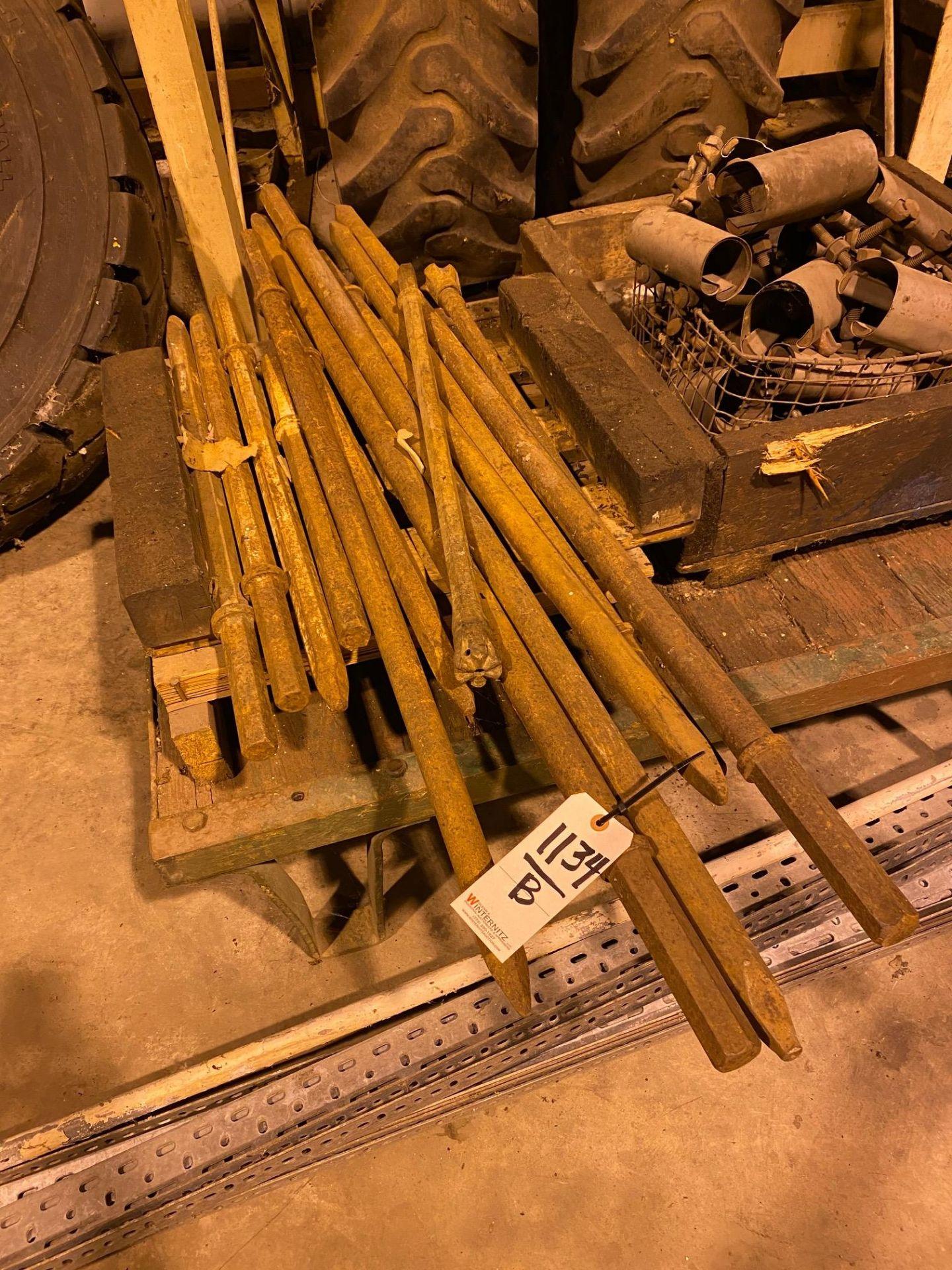 LOT: (2) Jack Hammers & Chisels (points) (South Beloit) - Image 2 of 2